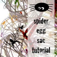 Make Creepy Spider Eggs