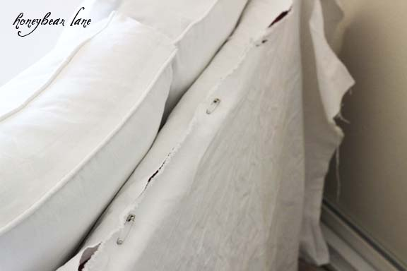 How To Make A Couch Slipcover Part 1