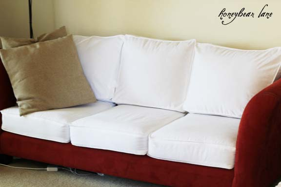 How To Make A Cushion Cover And Other Slipcover Tutorials Stunning How To Make Sofa Pillow Covers