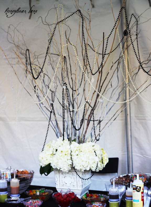 Make a Dramatic Centerpiece with Branches  Honeybear Lane - Fall Home Decor Diy