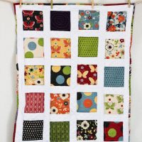 Charm Pack Minky Quilt