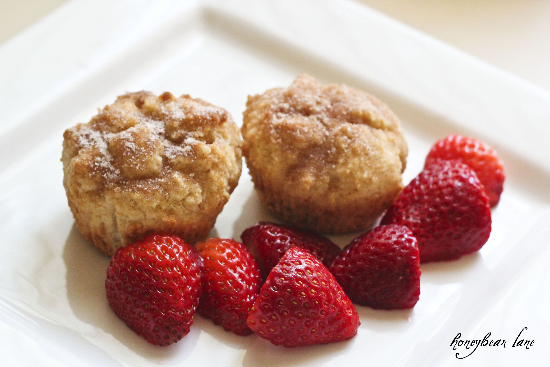 French Breakfast Muffins - HoneyBear Lane
