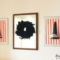 Make a Framed Witches Hat!