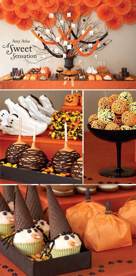 Halloween Dessert Decorations