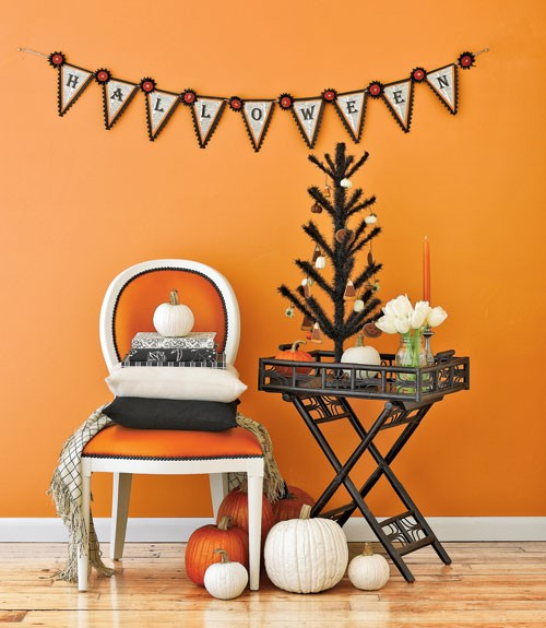 Modern Halloween Decor pinterest picks: modern halloween - honeybear lane