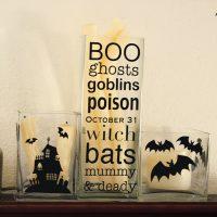 Halloween Subway Art…with a twist