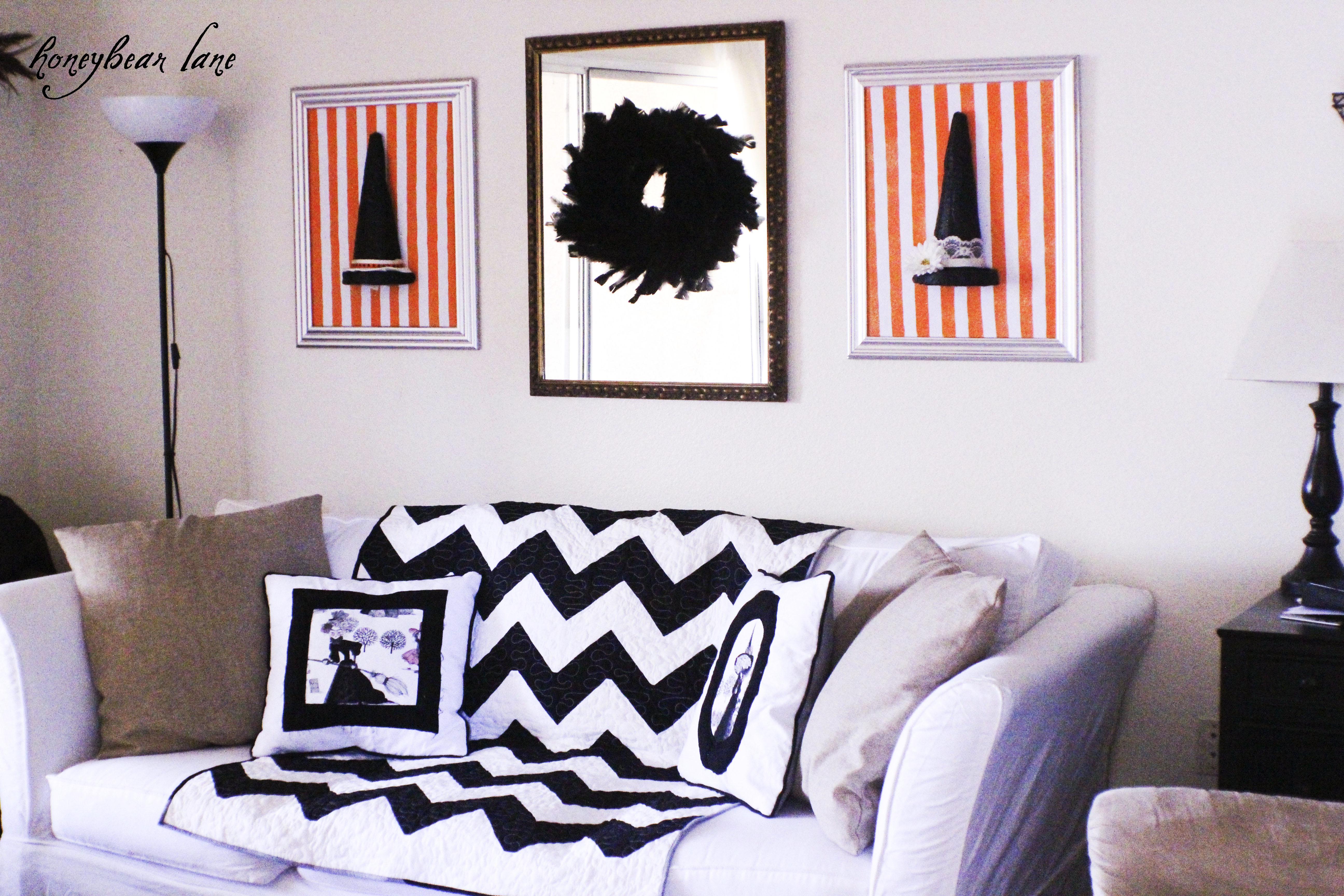 Decorating Ideas > Halloween Living Room Decor  HoneyBear Lane ~ 175434_Halloween Living Room Decor