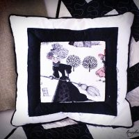Ghastly Witch Pillows