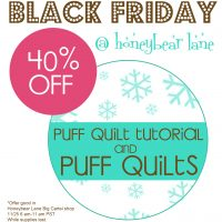 Black Friday at Honeybear Lane!