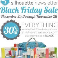 It's HERE:  Black Friday Silhouette and CAMEO deal!!