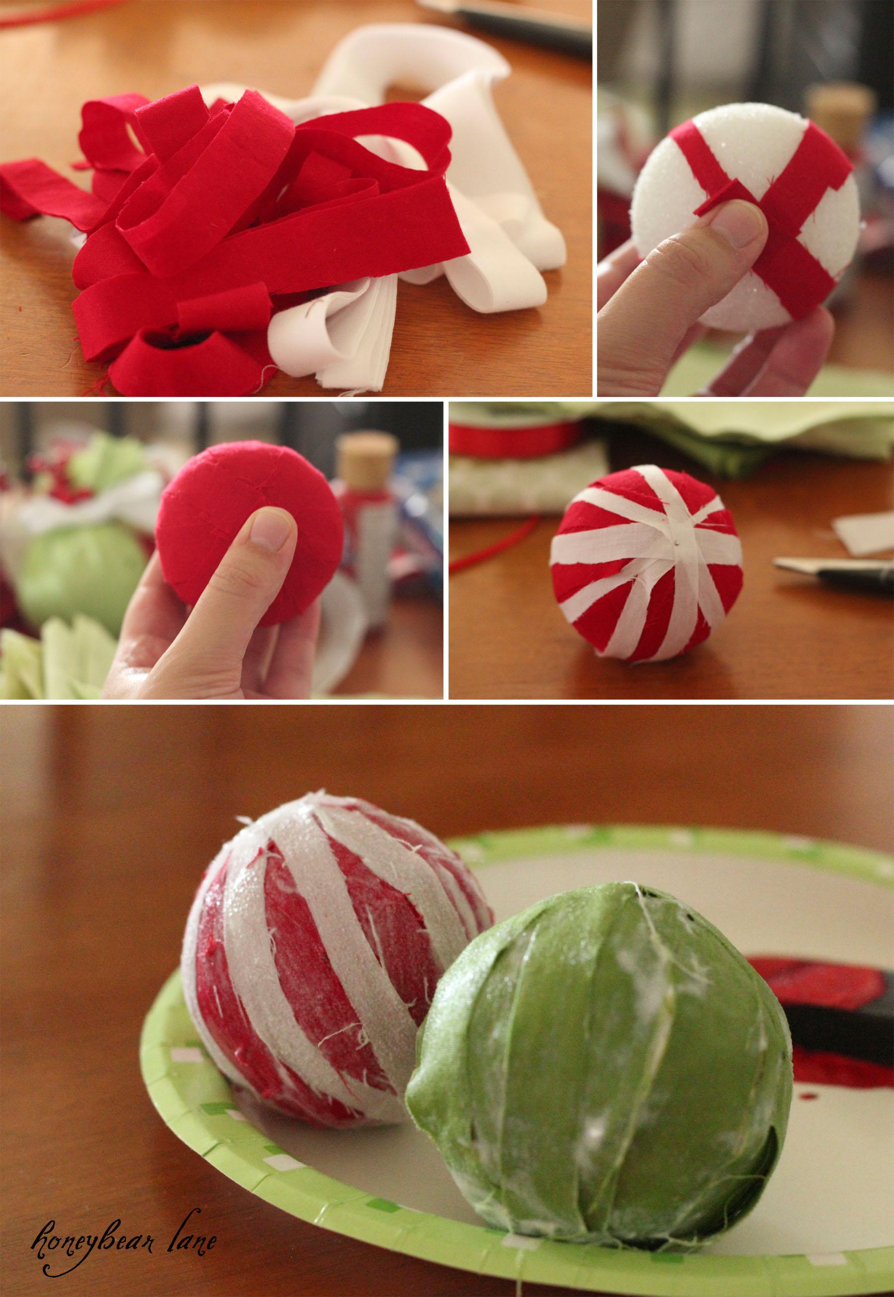 Christmas Crafts: Make Christmas Balls!