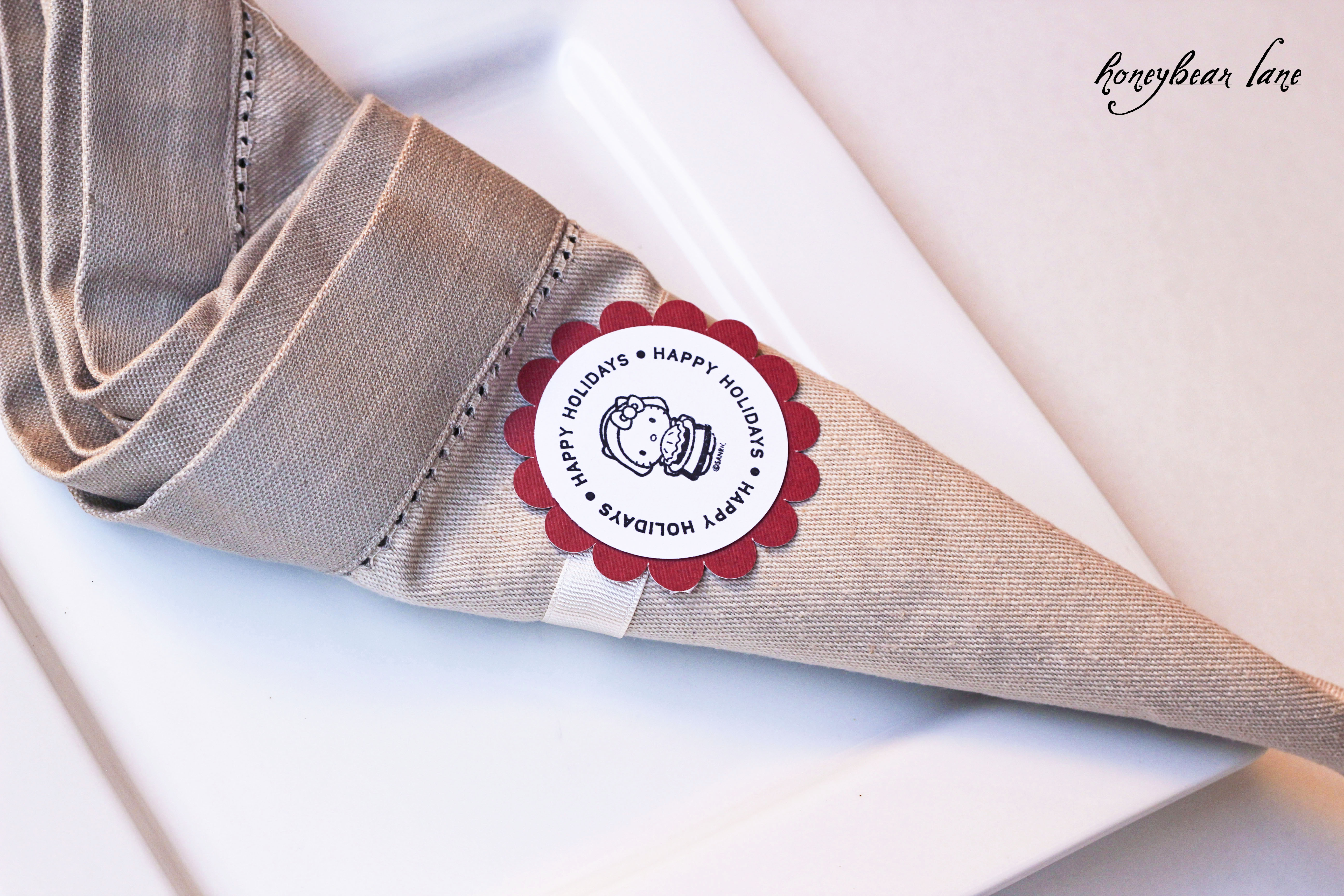 Napkin Ring Crafts For Thanksgiving