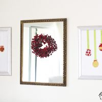 Glittery Ornament Decor with Tulip Shimmer