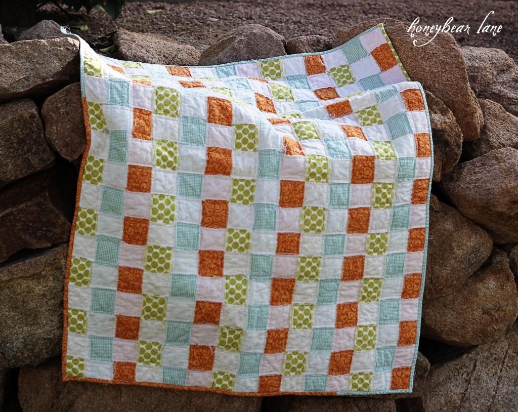 Basketweave Quilt Pattern - Honeybear Lane : quilt tutorials patterns - Adamdwight.com