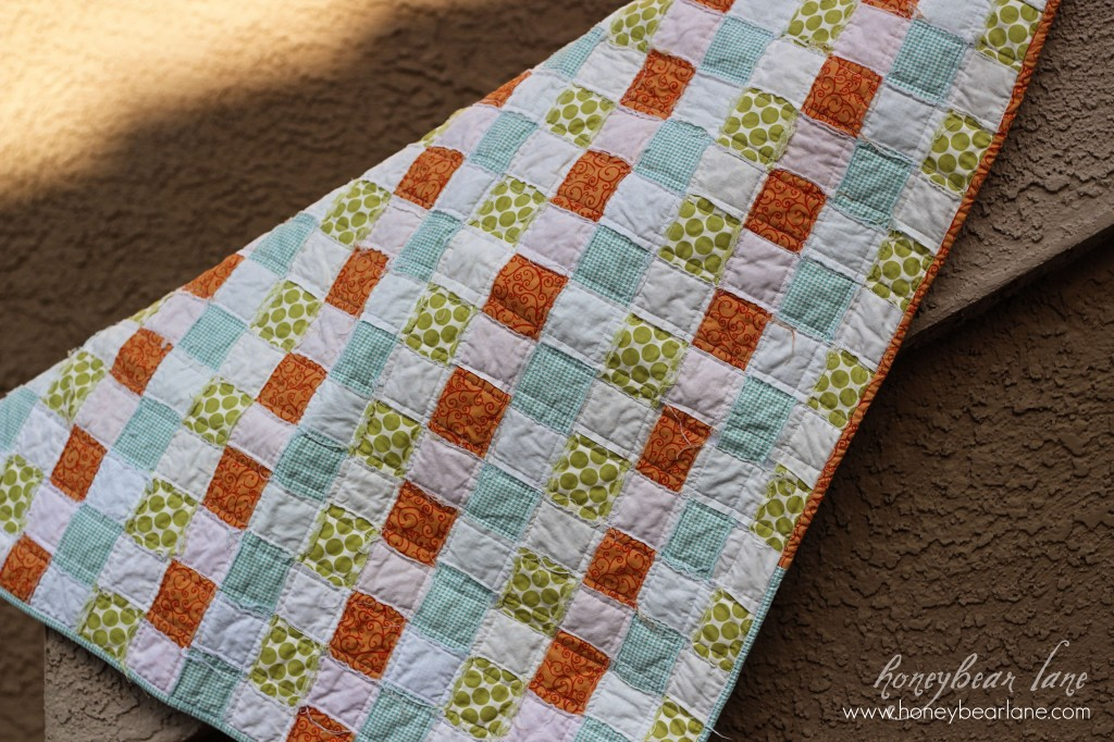 Basketweave Quilt Pattern - HoneyBear Lane