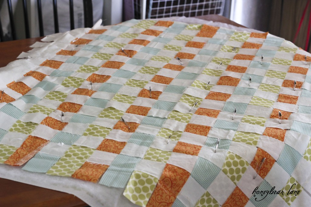 Basketweave Quilt Pattern Honeybear Lane Adorable Basket Weave Quilt Pattern