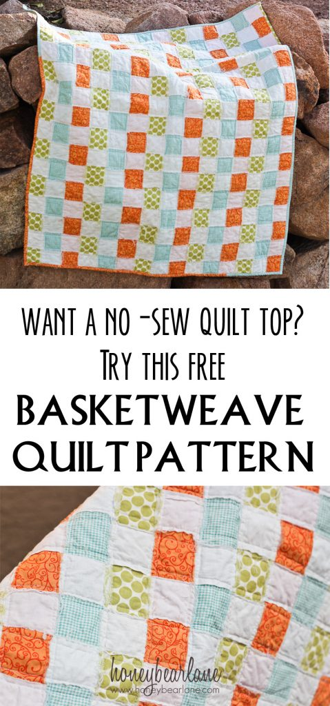 Basketweave Quilt Pattern Honeybear Lane Mesmerizing Basket Weave Quilt Pattern
