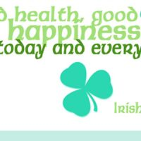 St. Patrick's Day Printable- an Irish Blessing