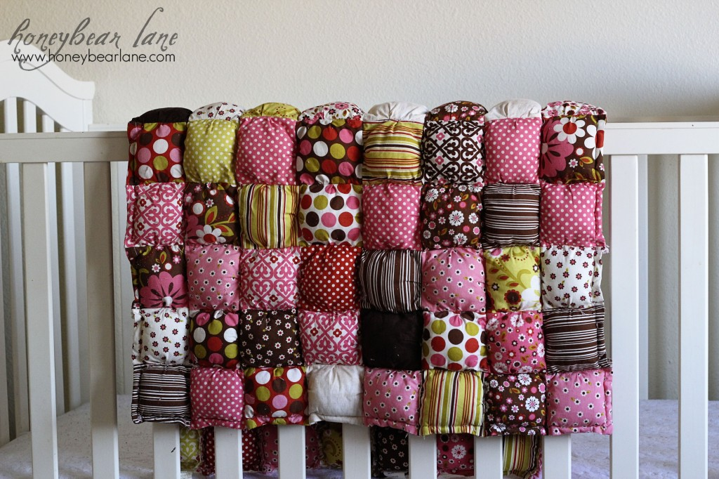 New Puff Quilt Pattern & Giveaway! - Honeybear Lane : puff rag quilt - Adamdwight.com