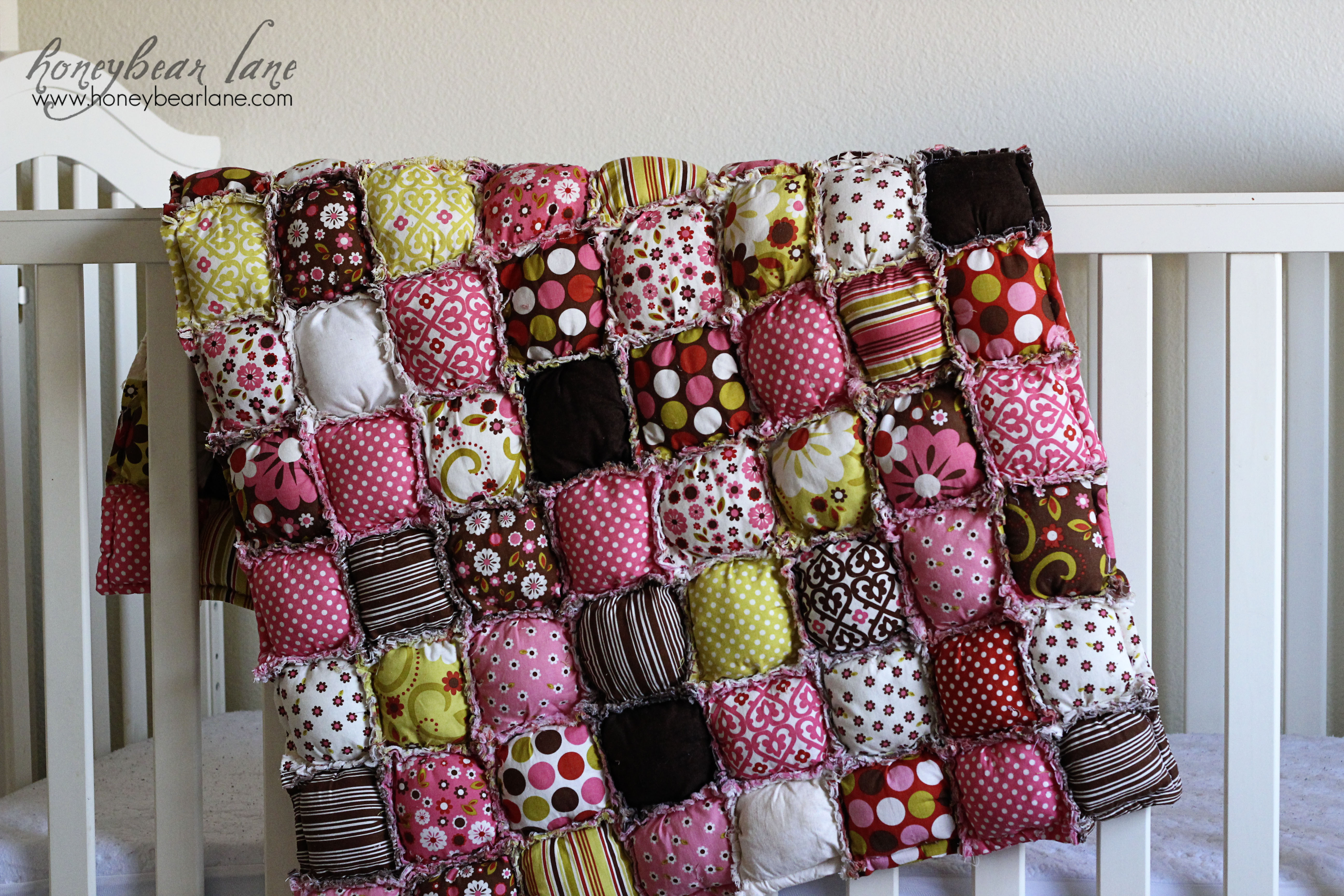 Free Pattern For Baby Puff Quilt : New Puff Quilt Pattern & Giveaway! - HoneyBear Lane