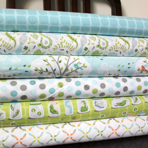Merveilleux These Are Beautiful Fabricsu2013would Be Great For A Baby Boy. {Backyard Baby  For Michael Miller.}