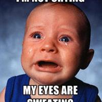 Forum Friday:  Crying
