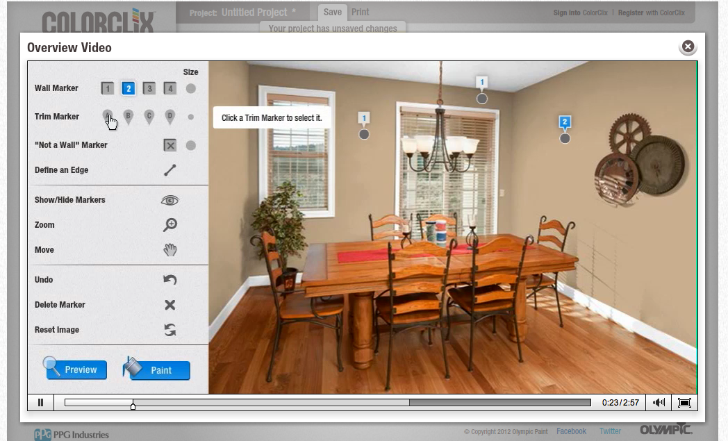 Virtually Paint Your Room App