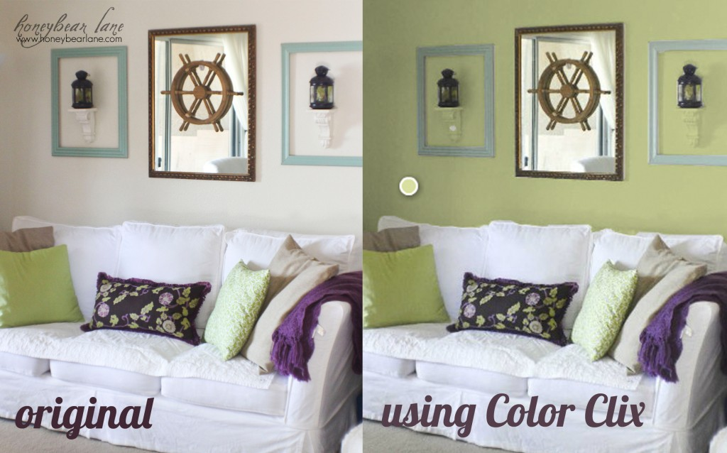 How to virtually re paint your room honeybear lane Colors to paint your living room