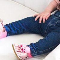 Baby Skinny Jeans Tutorial