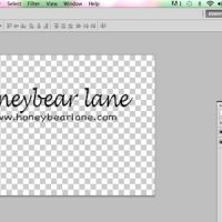 how to make a watermark in photoshop phlearn