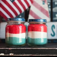 Sand Art {4th of July Edition} –Kids Craft!