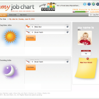 Kids Earn Rewards for Chores on Myjobchart.com