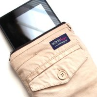 Make an eReader Case Out of Old Pants!