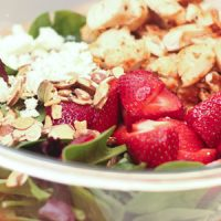 Quick and Easy Strawberry Chicken Salad
