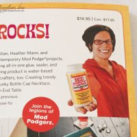 Mod Podge Rocks Book and Prize Pack Giveaway!