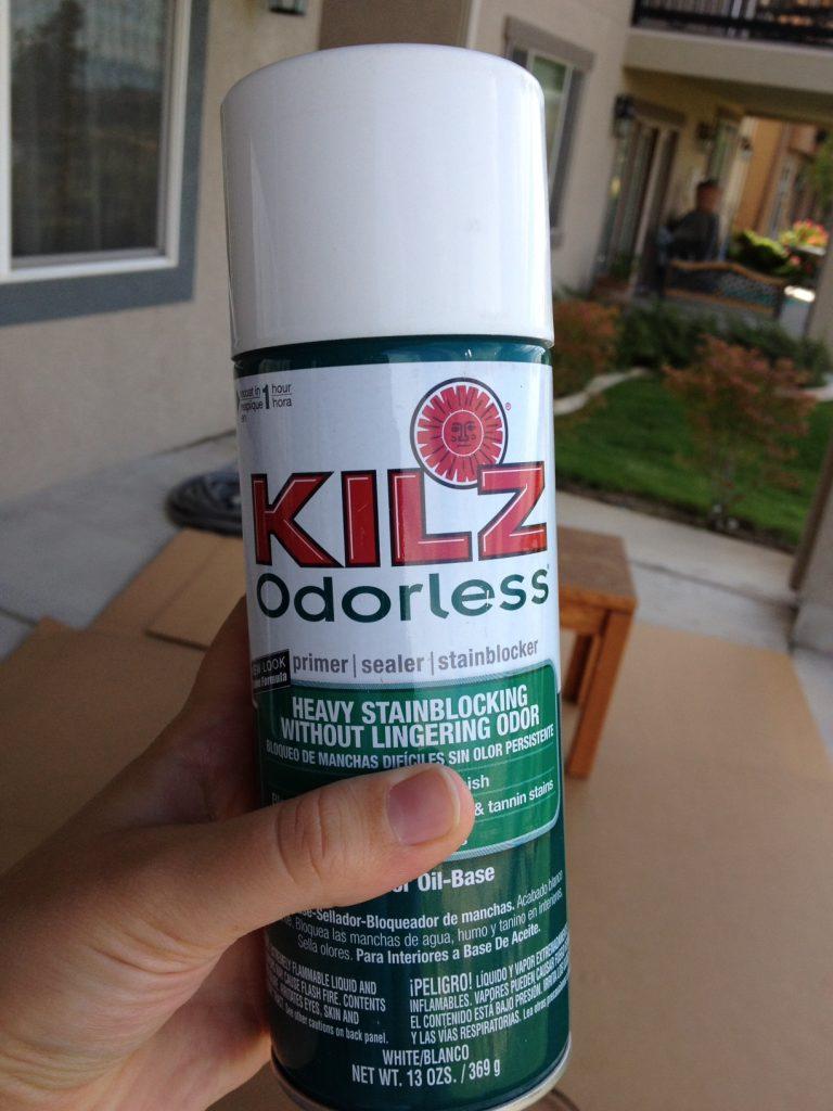 Kilz Spray Paint Primer Dripping