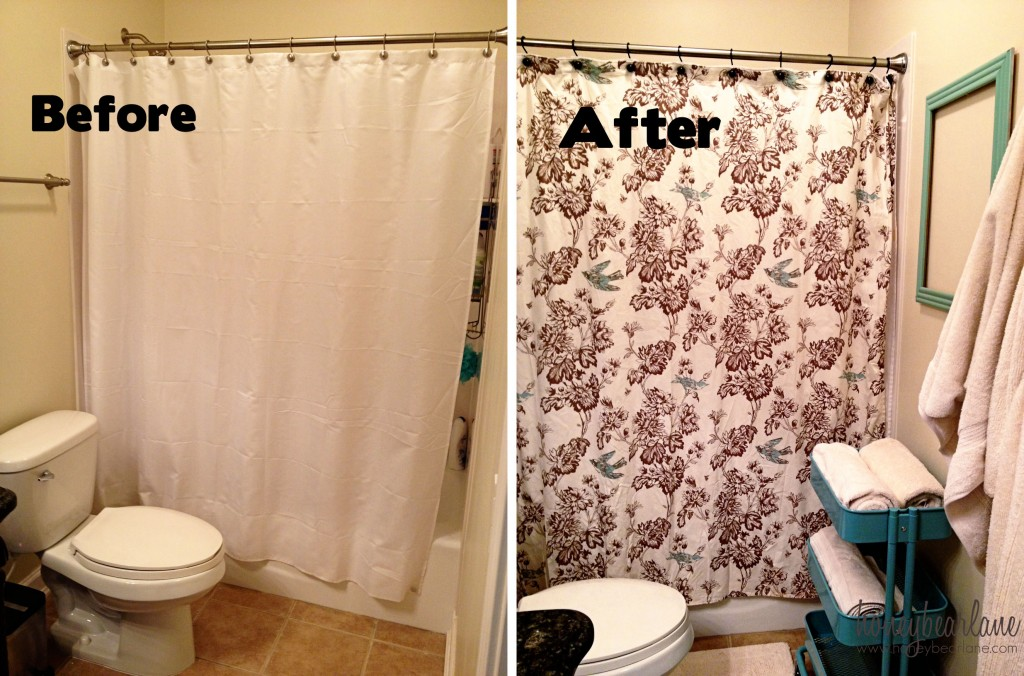 five steps to an easy bathroom makeover - HoneyBear Lane