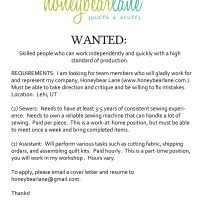 Honeybear Lane is Hiring!