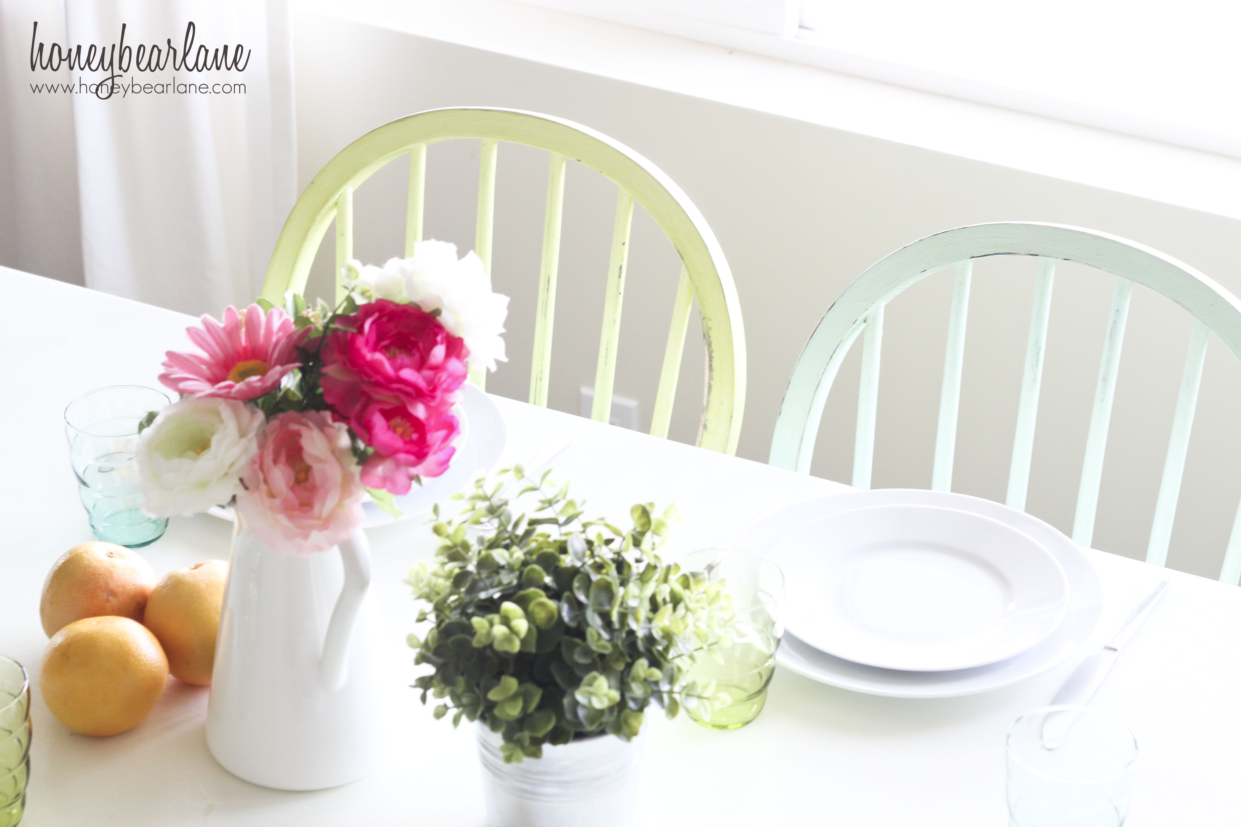 Easter Dining Table Decorating Ideas