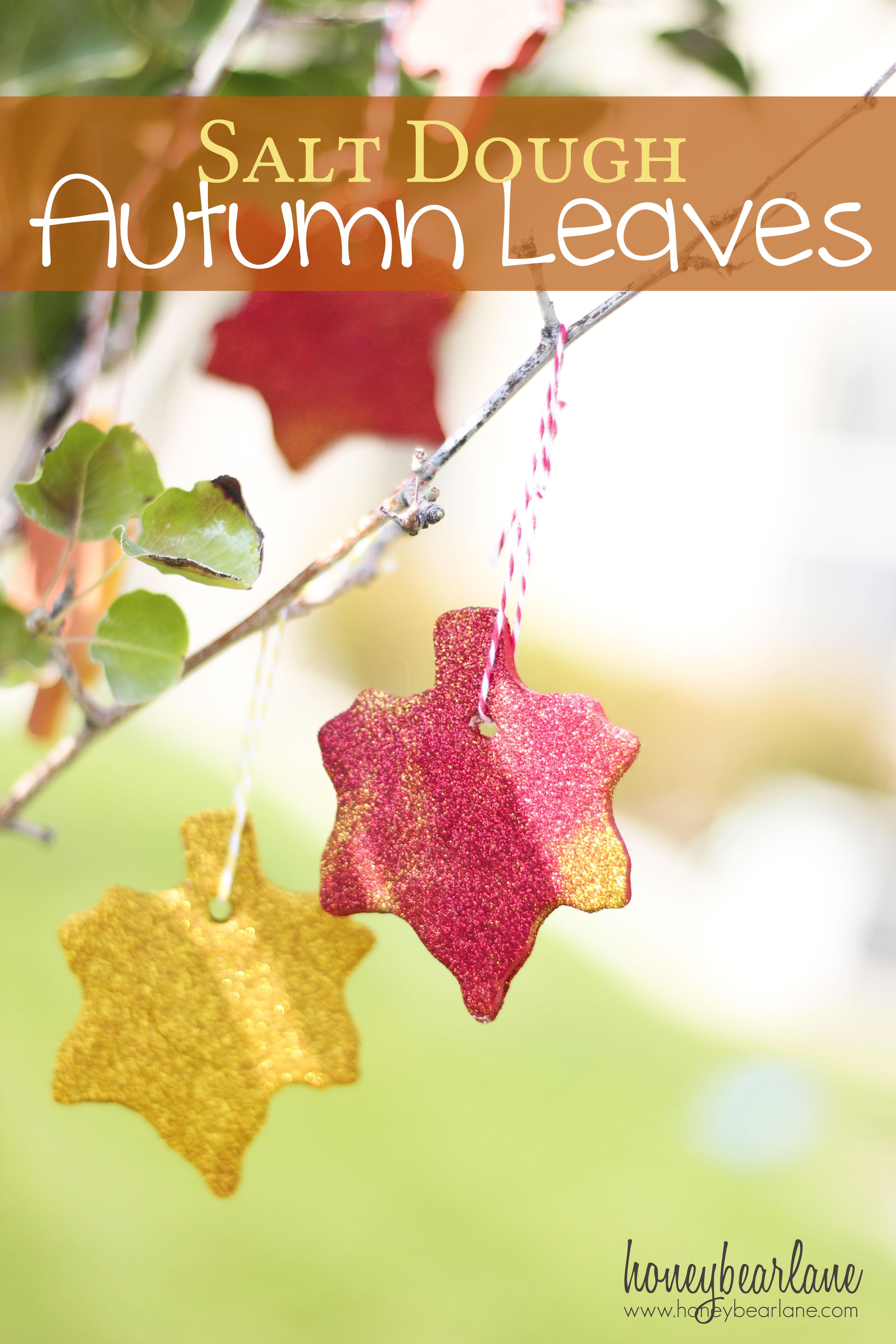 Salt Dough Recipe–Autumn Leaves