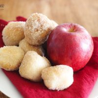 SUPER FAST Cider Spiced Donut Holes