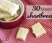 30minute shortbread