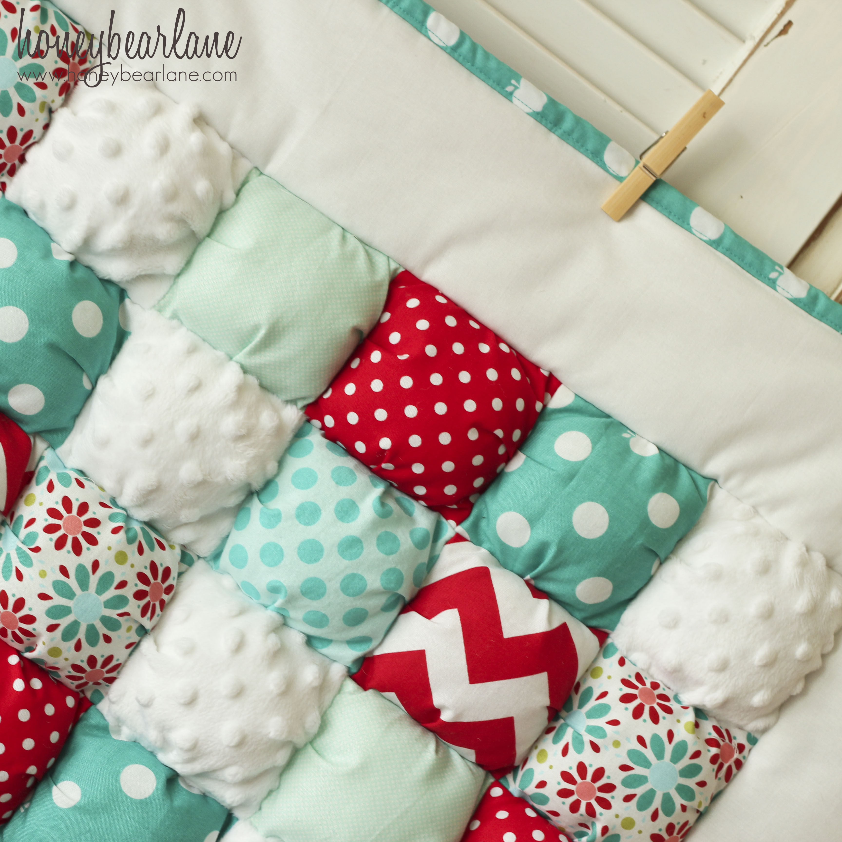 Free Pattern For Baby Puff Quilt : Puff Quilts