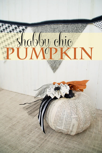 Shabby chic pumpkin makeover for Shabby chic instagram