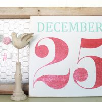 December 25 Christmas Signs