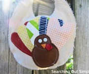 scrap turkey bib