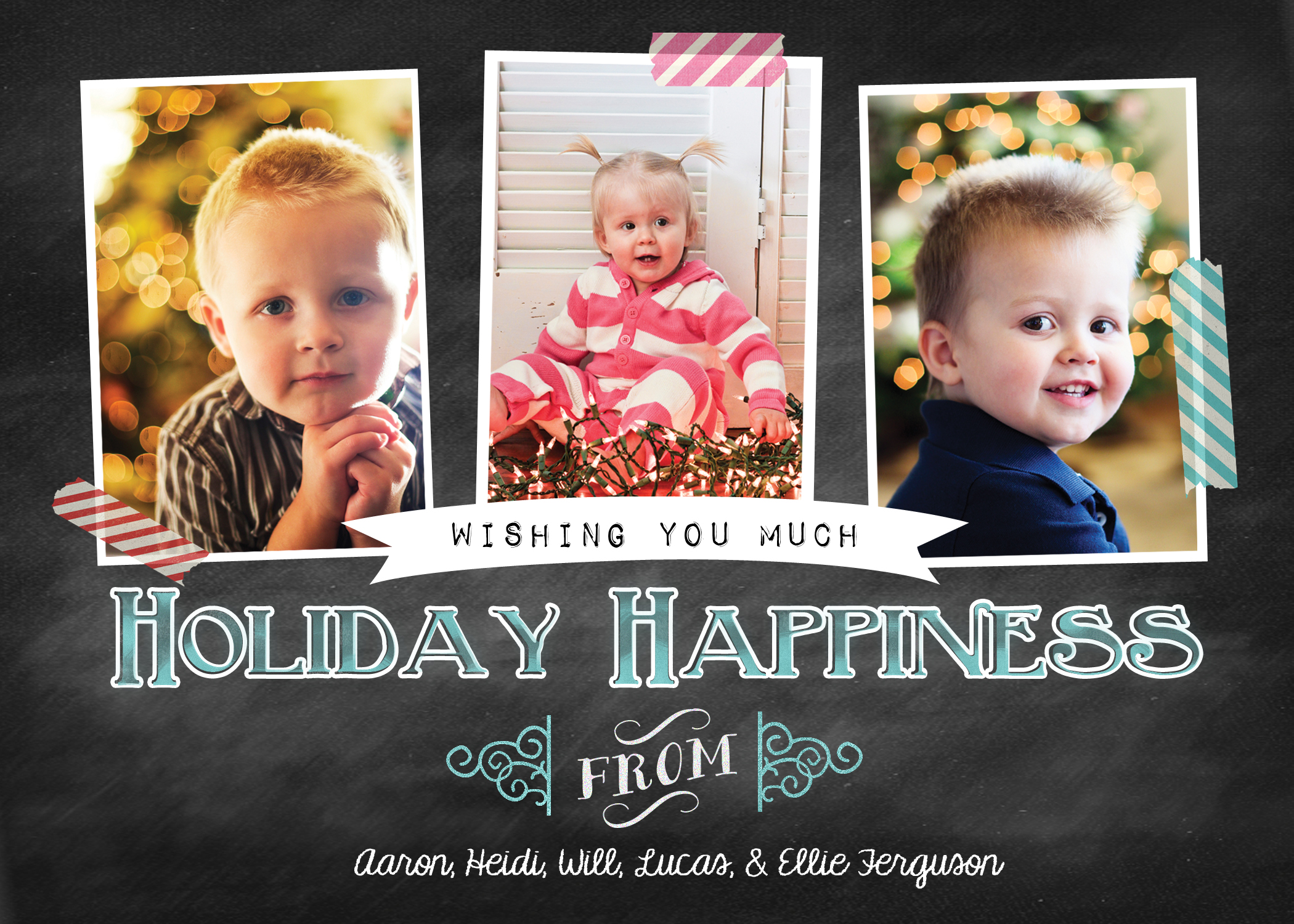 Our Christmas Cards from Shutterfly