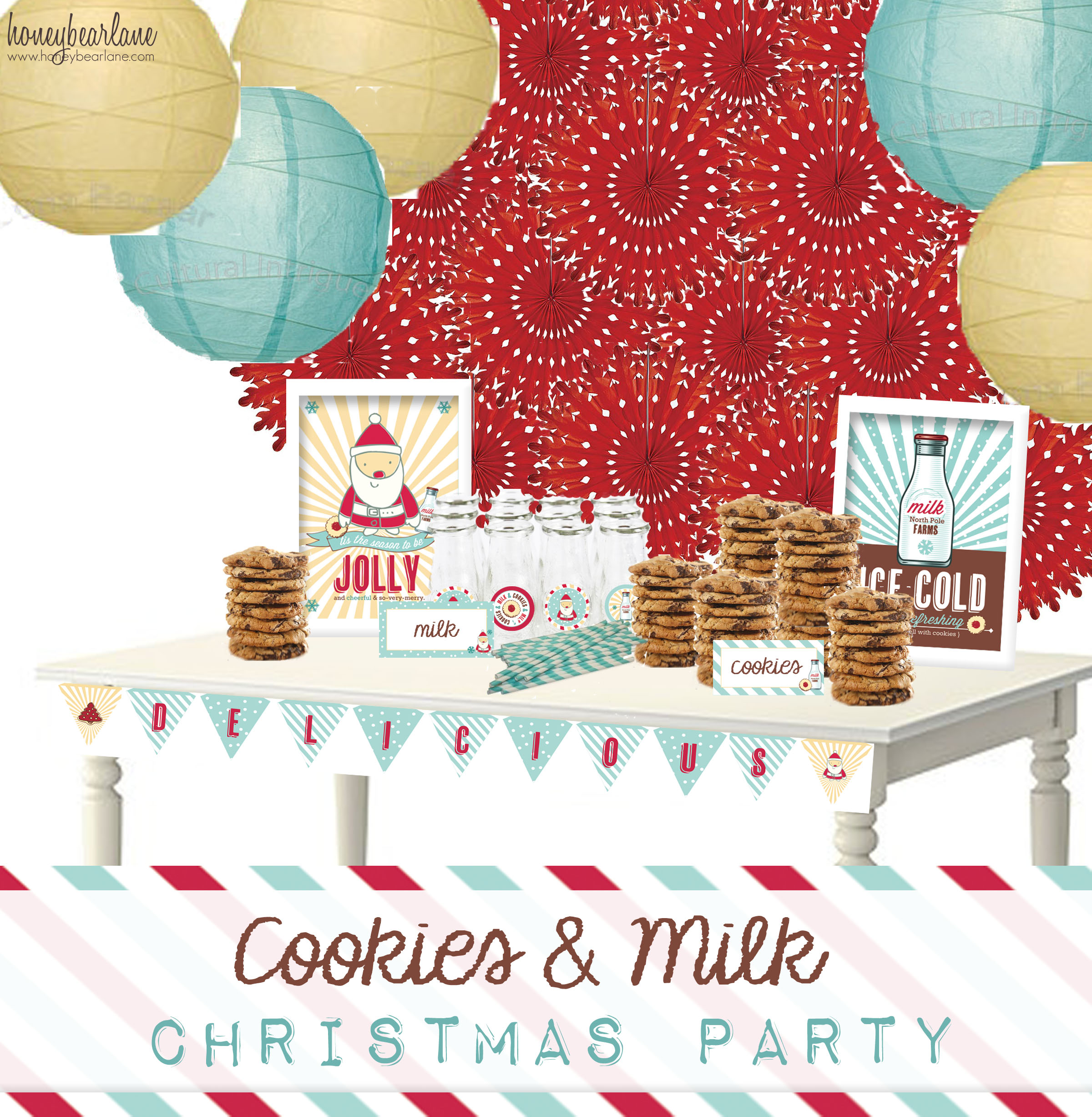Cookies And Milk Party Plan