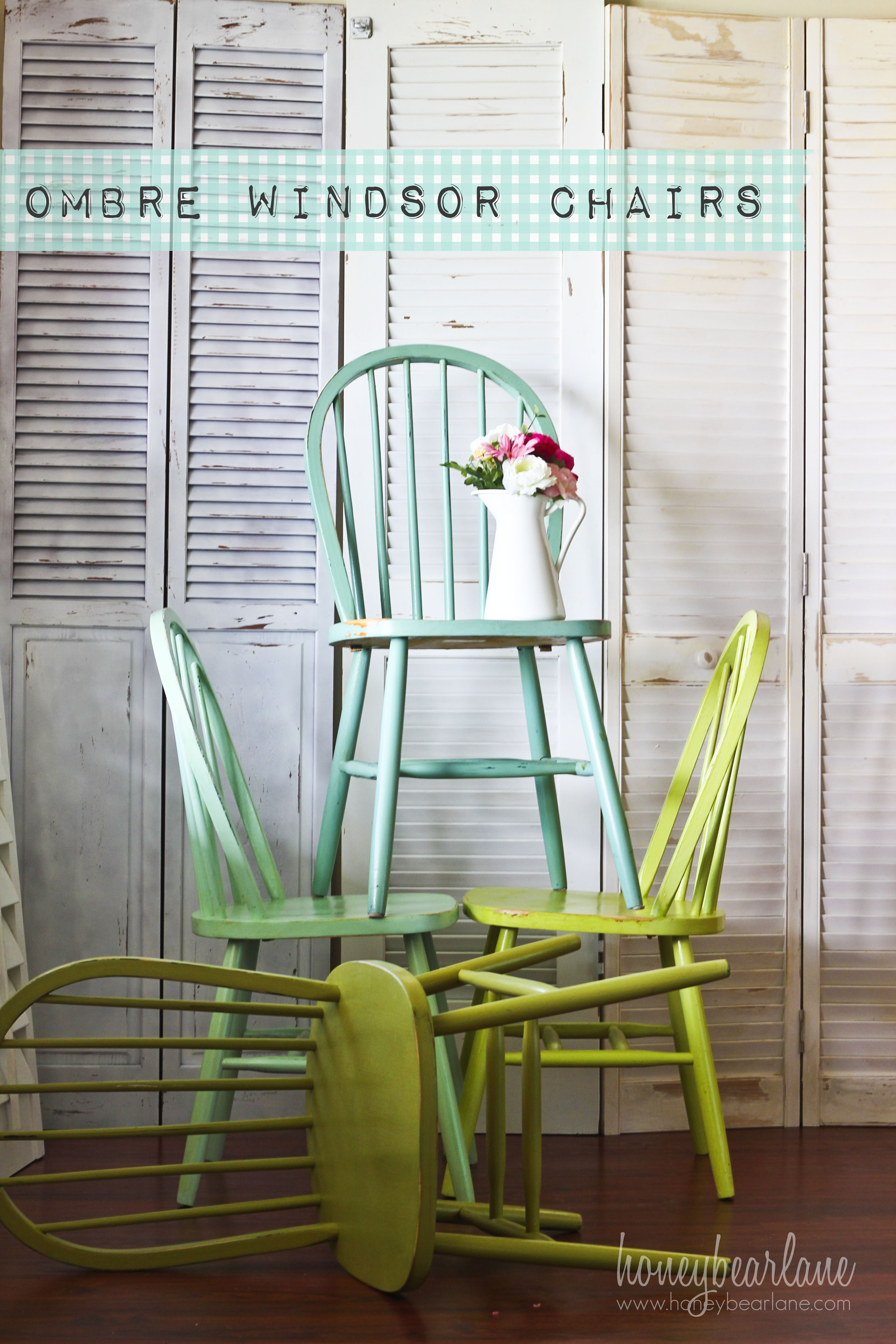 Painting Kitchen Chairs Red