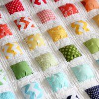 puff quilt tutorial Archives - Honeybear Lane : free biscuit quilt pattern - Adamdwight.com